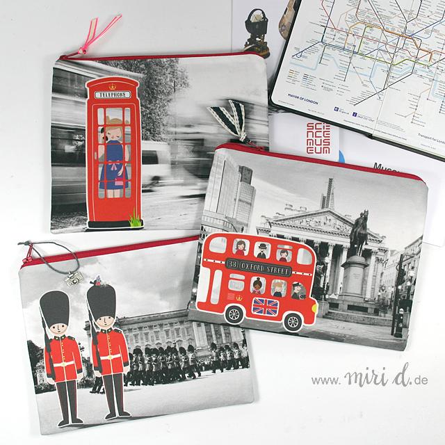 Londontasche mit kostenloser Anleitung