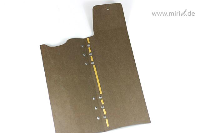 Lederpapier Stiftetasche