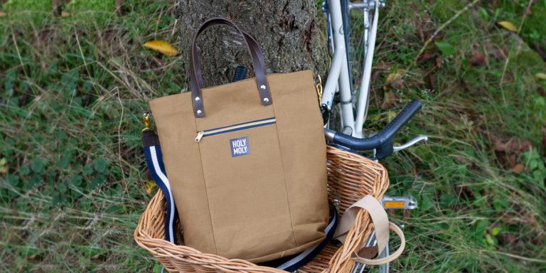 """Tasche aus dem Buch """"Taschen nähen"""" (mit eigenem Stoffdesign)"""